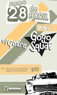 20070428 - Gogo Squat, Esqadra, Tíos Jodidos