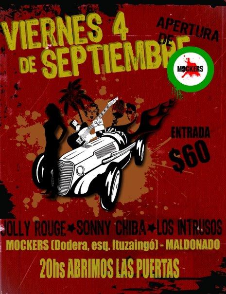 Viernes 4 de setiembre - Mockers