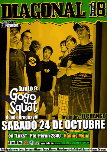 Diagonal 18 y Gogo Squat en Argentina