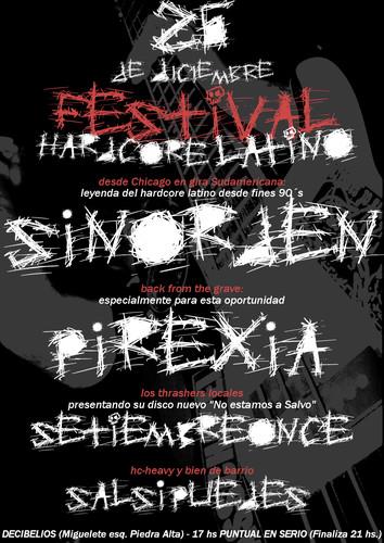 Festival hardcore latino 2009