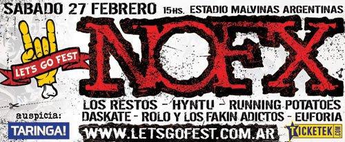Let's Go Fest - NOFX 2010
