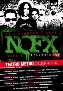 NOFX en Bogotá, Colombia - 2010