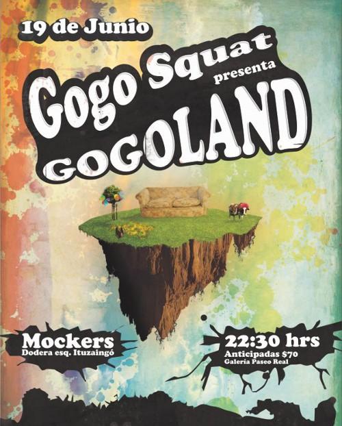 Gogo Squat - Presenta Gogoland