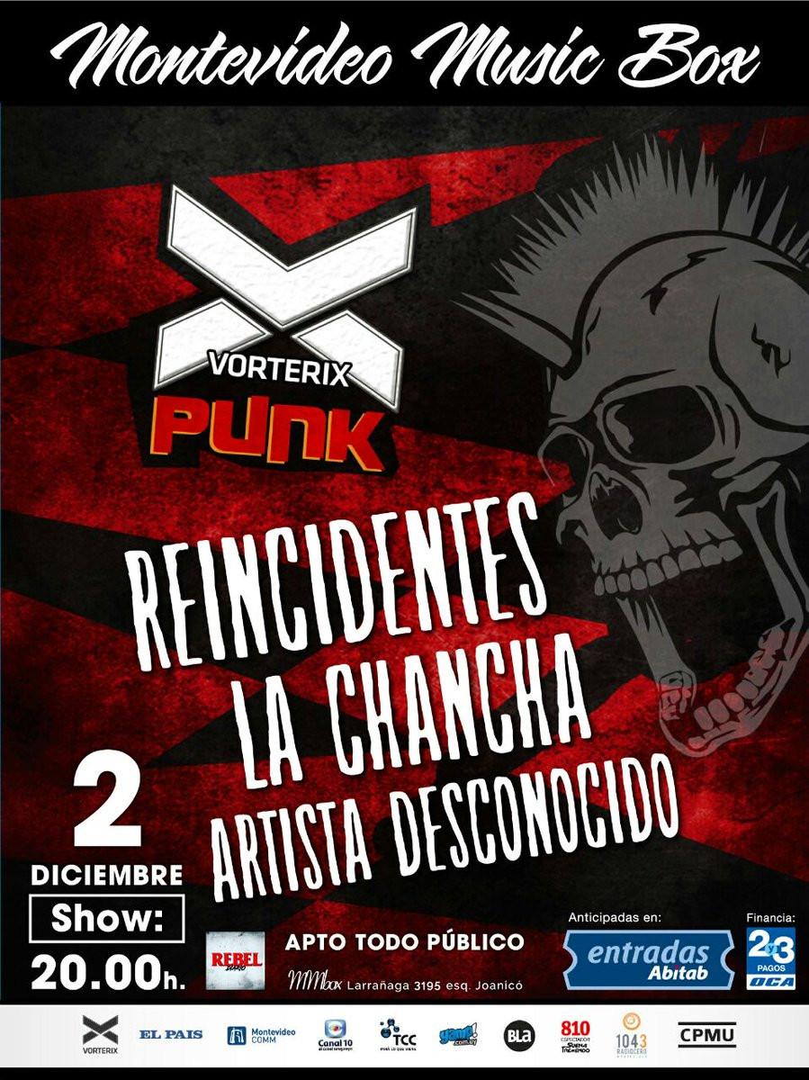 Vorterix Punk Uruguay
