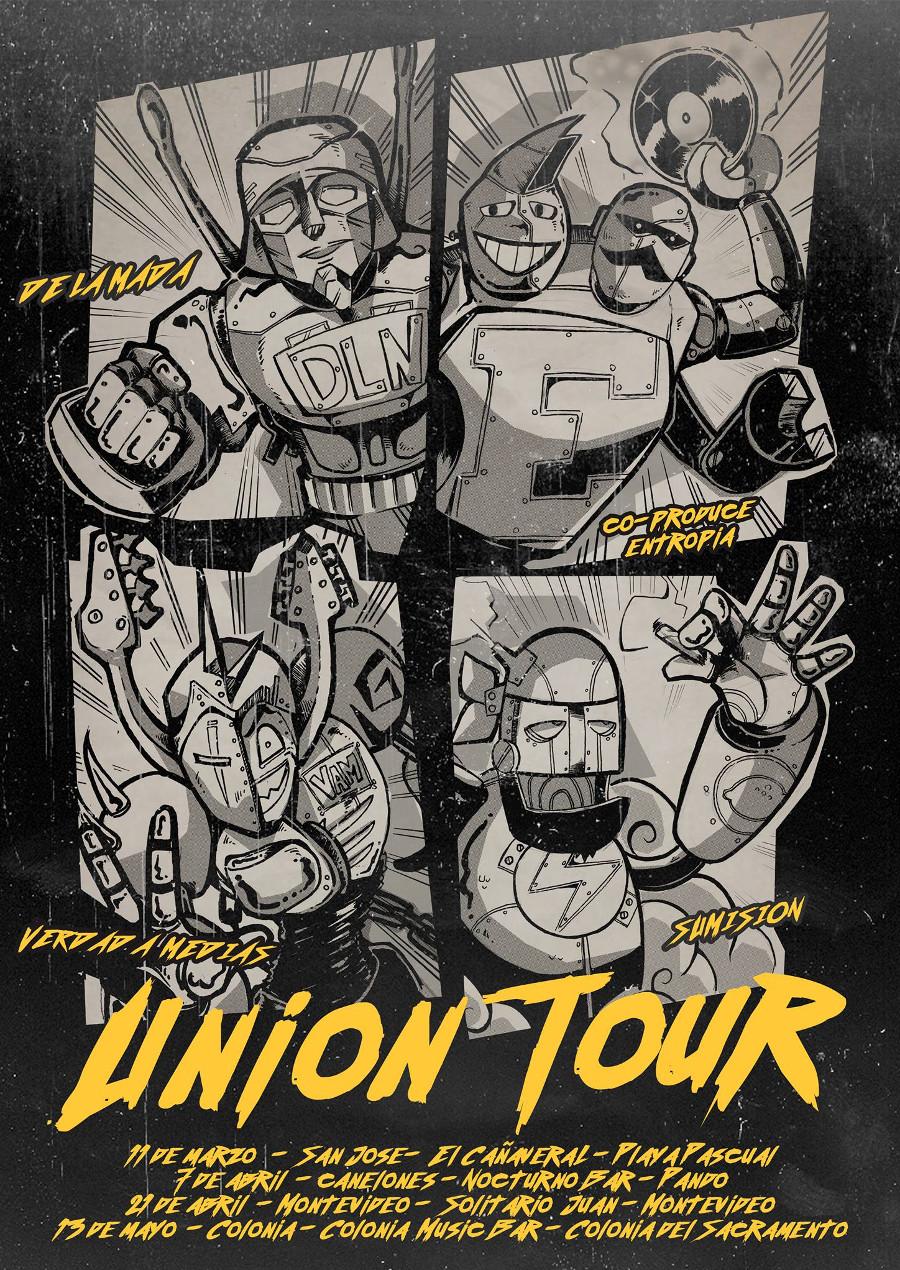 Union Tour: Verdad A Medias, Sumision y De La Nada