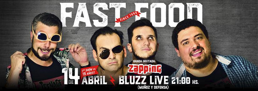 Fast Food y Zapping - Bluzz Live