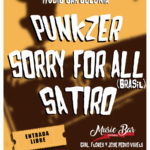 Punkzer - Sorry for All (Brasil) - Sátiro en Music Bar Colonia
